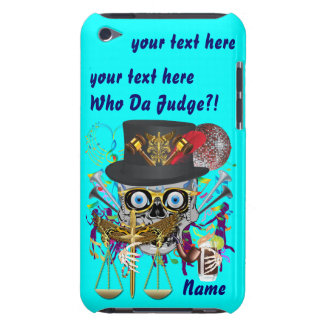 Judge Mardi Gras 30 colors Important view notes iPod Touch Case