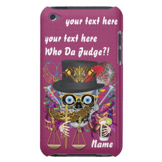 Judge Mardi Gras Important Instructions view notes Barely There iPod Case