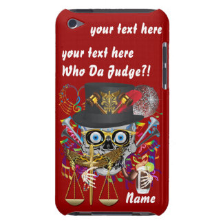 Judge Mardi Gras Important Instructions view notes Barely There iPod Cases
