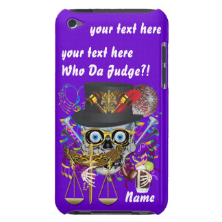 Judge Mardi Gras Important Instructions view notes Barely There iPod Cover