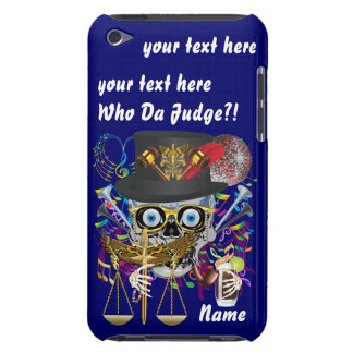 Judge Mardi Gras Important Instructions view notes Barely There iPod Covers