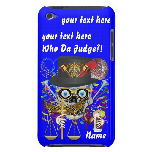 Judge Mardi Gras Important Instructions view notes iPod Case-Mate Cases