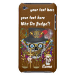 Judge Mardi Gras Important Instructions view notes iPod Touch Cases