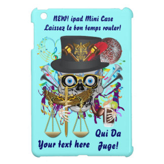 Judge Mardi Gras Important Instructions view notes Case For The iPad Mini