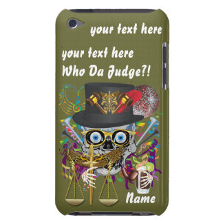 Judge Mardi Gras Important Instructions view notes Case-Mate iPod Touch Case