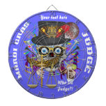 Judge Mardi Gras Important Instructions view notes Dartboard