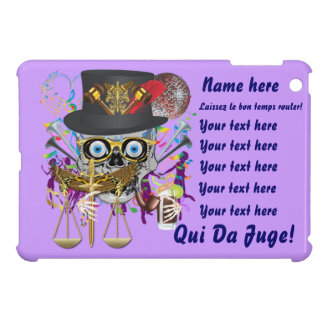 Judge Mardi Gras Important Instructions view notes iPad Mini Case