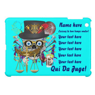 Judge Mardi Gras Important Instructions view notes iPad Mini Cases