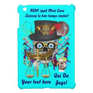 Judge Mardi Gras Important Instructions view notes iPad Mini Cover