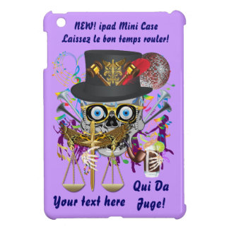 Judge Mardi Gras Important Instructions view notes iPad Mini Cover