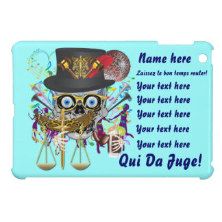 Judge Mardi Gras Important Instructions view notes iPad Mini Covers