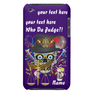 Judge Mardi Gras Important Instructions view notes iPod Case-Mate Case