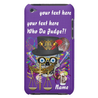 Judge Mardi Gras Important Instructions view notes iPod Touch Cover