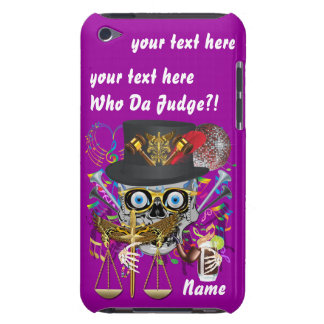 Judge Mardi Gras Important Instructions view notes iPod Touch Covers