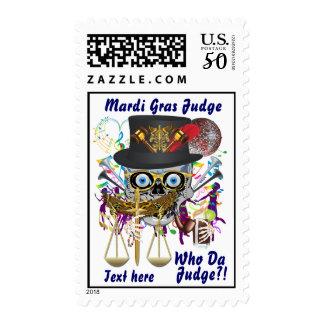 Judge Mardi Gras Important view notes Postage