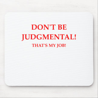 judge mouse pad
