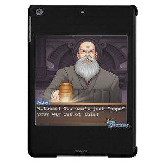 "Judge - ""Oops"" iPad Air Covers"