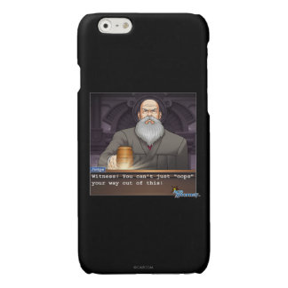 """Judge - """"Oops"""" Glossy iPhone 6 Case"""