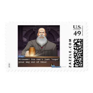 """Judge - """"Oops"""" Postage Stamp"""