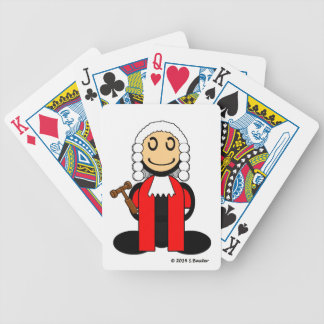 Judge (plain) bicycle playing cards