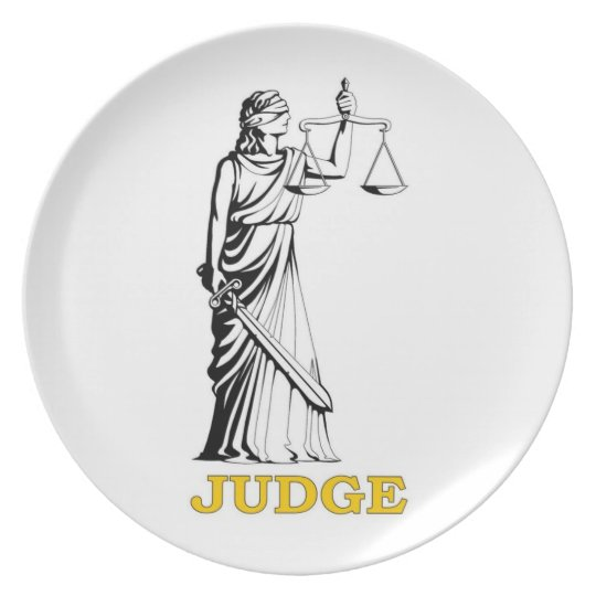 JUDGE PLATE