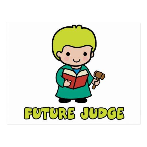 Judge Post Card