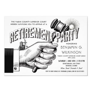 judge retirement gifts on zazzle
