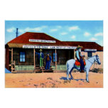 Judge Roy Bean Law West of the Pecos Poster