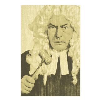 Judge Custom Stationery