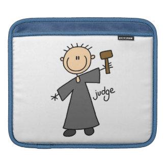 Judge Stick Figure iPad Sleeve
