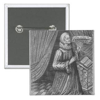 Judge Thomas Littleton, 1628 2 Inch Square Button