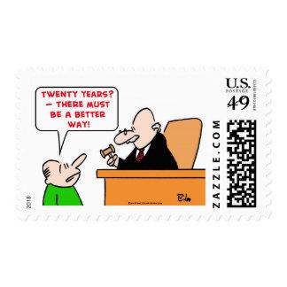 judge twenty years stamp