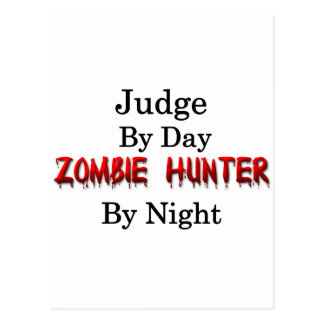 Judge/Zombie Hunter Postcard