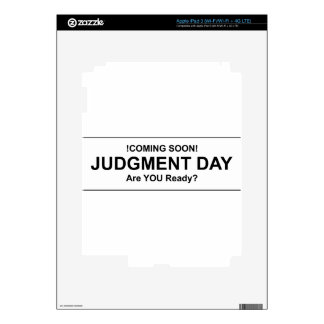 Judgement Day iPad 3 Skins
