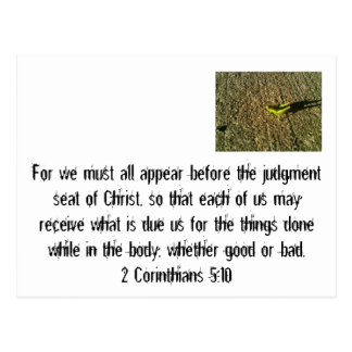 Judgement Day Postcards