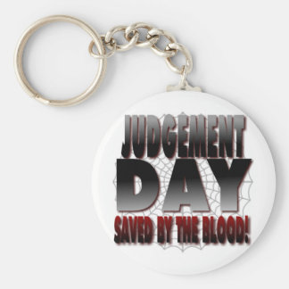 Judgement Day Saved By The Blood Keychain