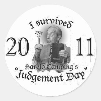 Judgement Day Sticker