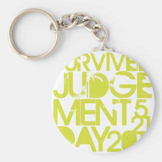 Judgement Day Survivor Keychains