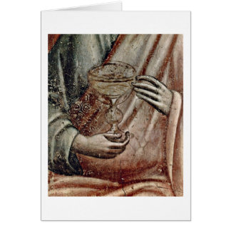 Judgement Detail By Pietro Cavallini Greeting Card