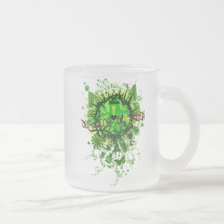 Judgement Frosted Glass Coffee Mug