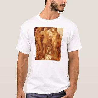 Judgement Of Paris by George Frederick Watts T-Shirt