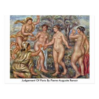 Judgement Of Paris By Pierre-Auguste Renoir Postcard