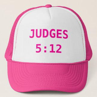 JUDGES 5:12 TRUCKER HAT