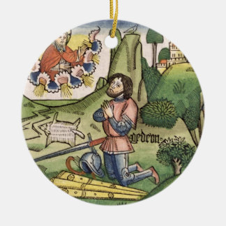 Judges 6 36 Gideon puts out the fleece from the Christmas Ornaments
