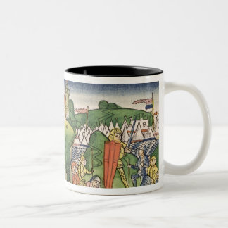 Judges 6 36 Gideon puts out the fleece, from the ' Two-Tone Coffee Mug