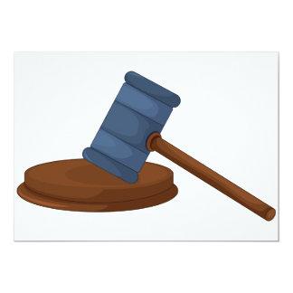Judges Gavel Invitations