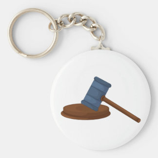Judges Gavel Keychain