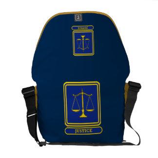 Judges Justice Shield Courier Bags