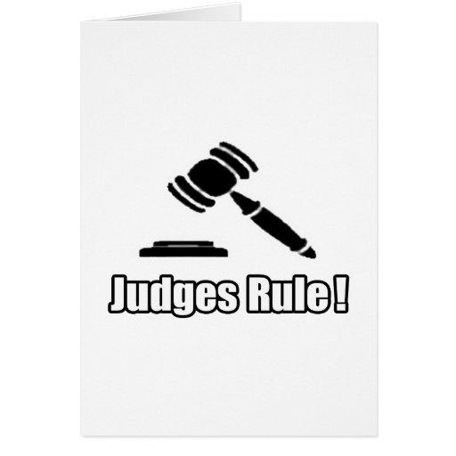 Judges Rule! Card