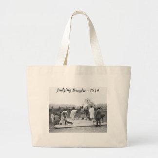 Judging Beagles 1914 Bag